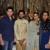 Maheshbabu at aswini dutt daughter marriage  (19)