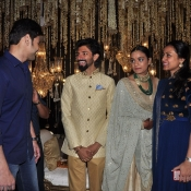 Maheshbabu at aswini dutt daughter marriage  (20)