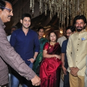 Maheshbabu at aswini dutt daughter marriage  (15)
