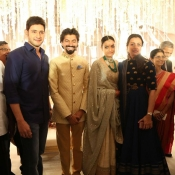 Maheshbabu at aswini dutt daughter marriage  (2)
