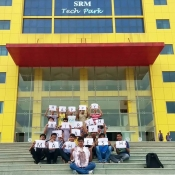 mahesh-birthday-celebrations-at-SRM-techpark-chennai1